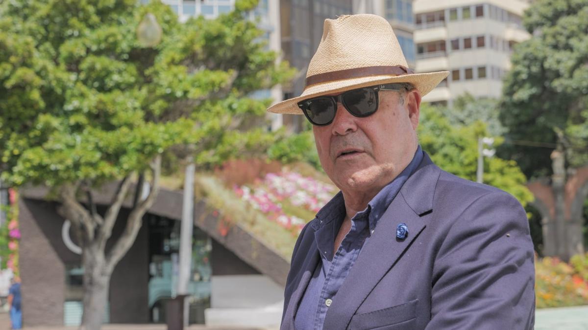 El actor Antonio Resines en un momento de la grabación