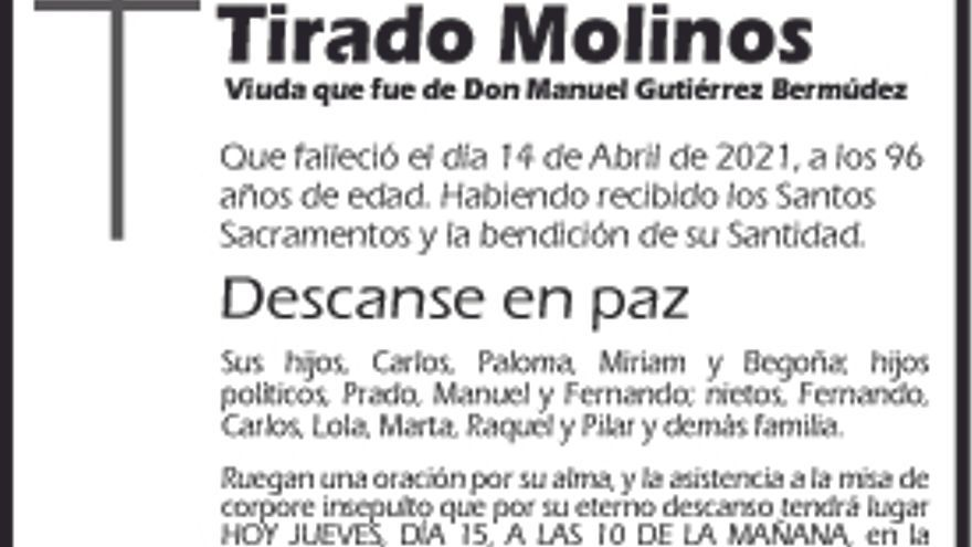 Concepción Tirado Molinos