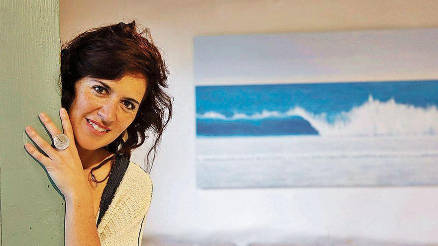Weltenbummlerin mit Herz eröffnet Galerie in Alaró