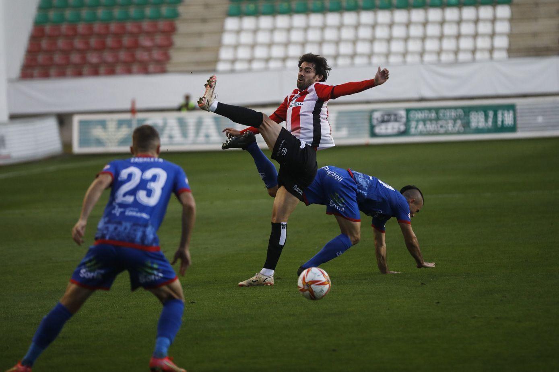 GALERÍA | El Zamora CF - Calahorra, en imágenes