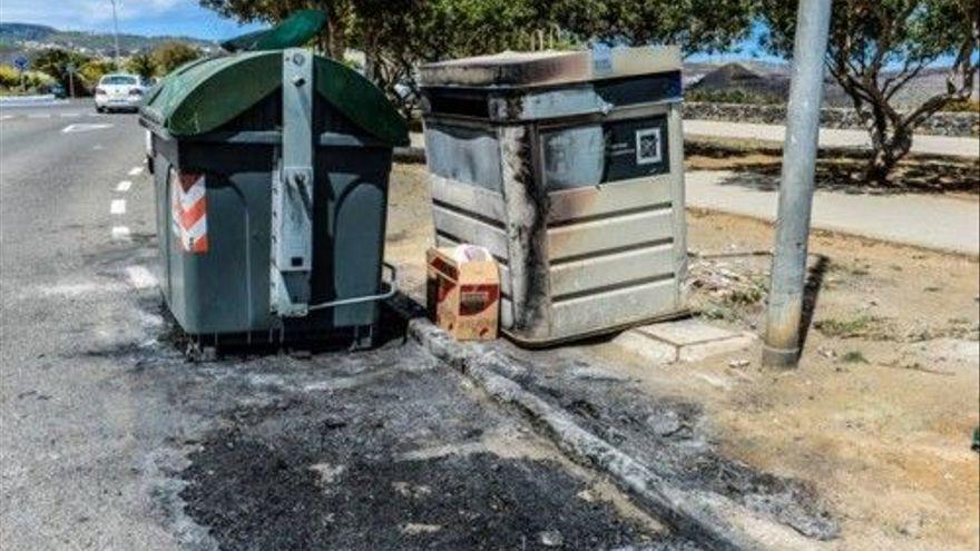 Detenido por quemar contenedores en Telde