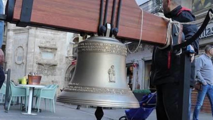 Santa Catalina ya cuenta con su nueva campana