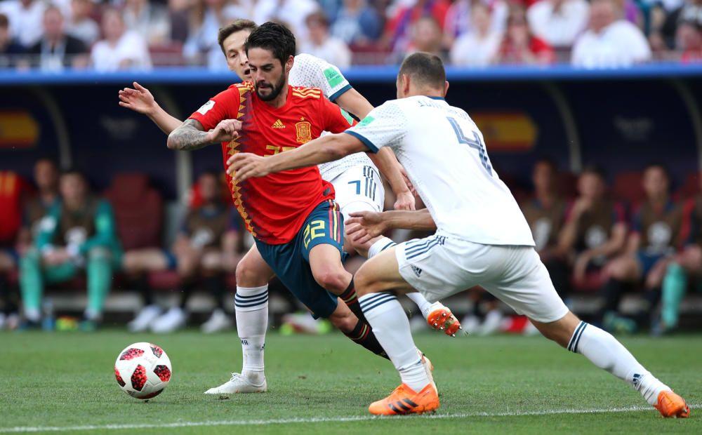 Miundial de Rusia: España-Rusia