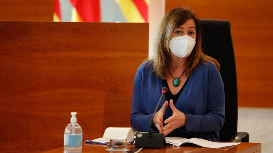 Armengol reclama que las comunidades autónomas puedan decretar el toque de queda