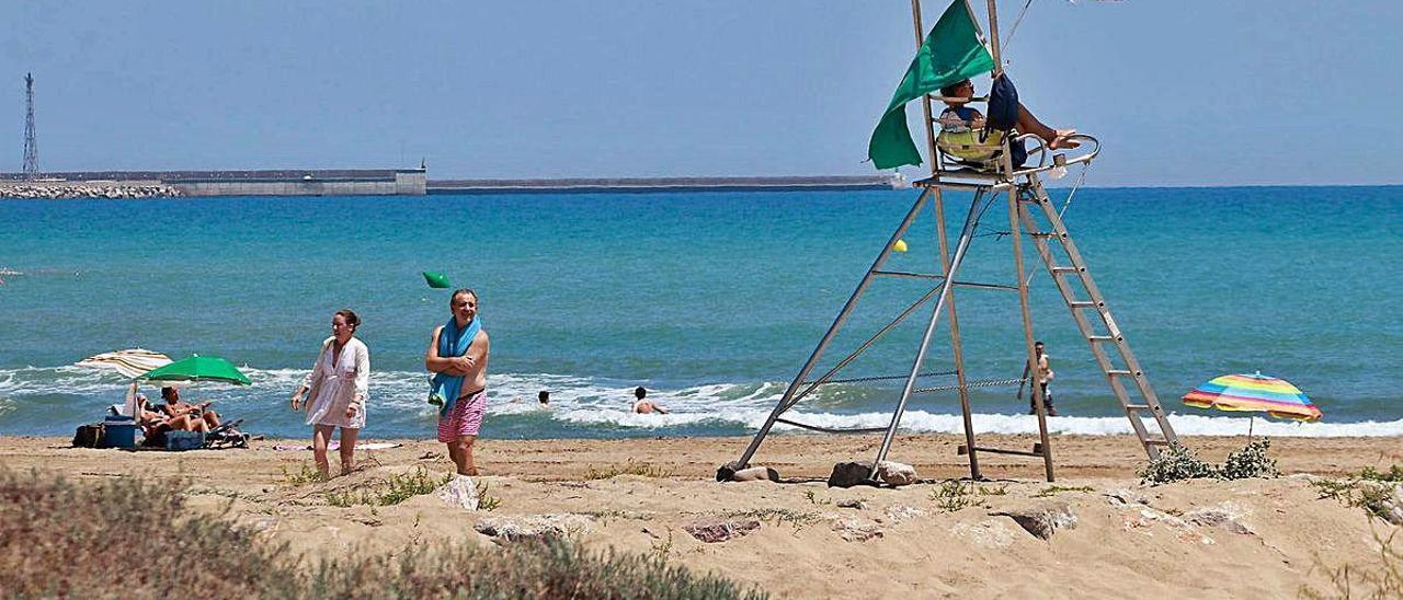 Las playas de la comarca registran un nivel «excelente» de calidad de sus aguas.