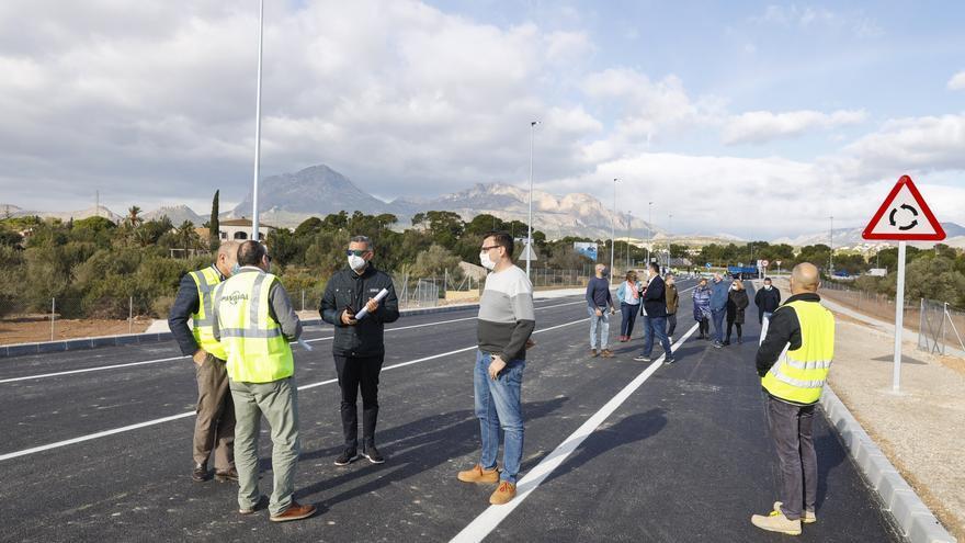 L'Alfàs del Pi abre al tráfico el nuevo acceso a la zona de l'Albir desde la N-332