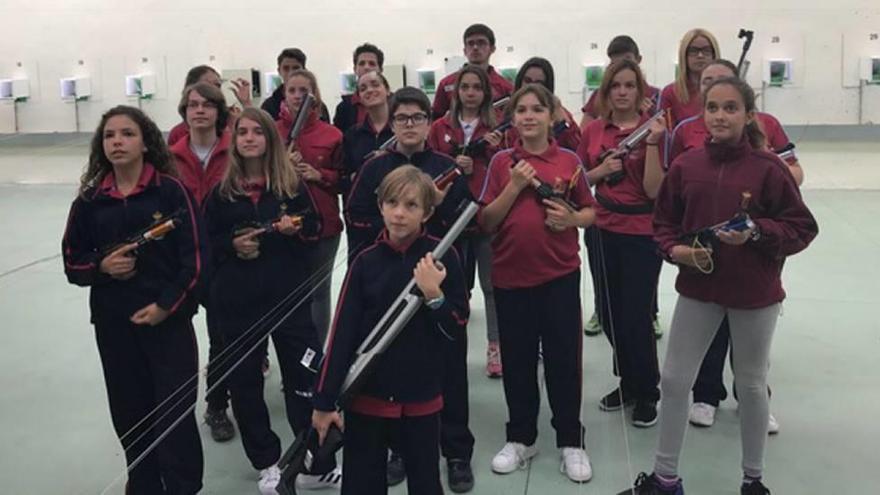 Murcia arrasa  en el Nacional de jóvenes promesas