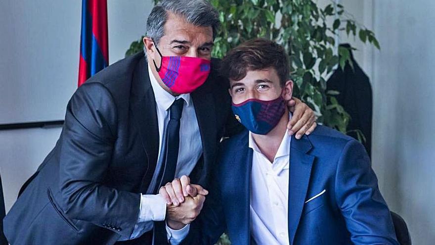 Koeman recluta a Nico González, el hijo de Fran, para la pretemporada
