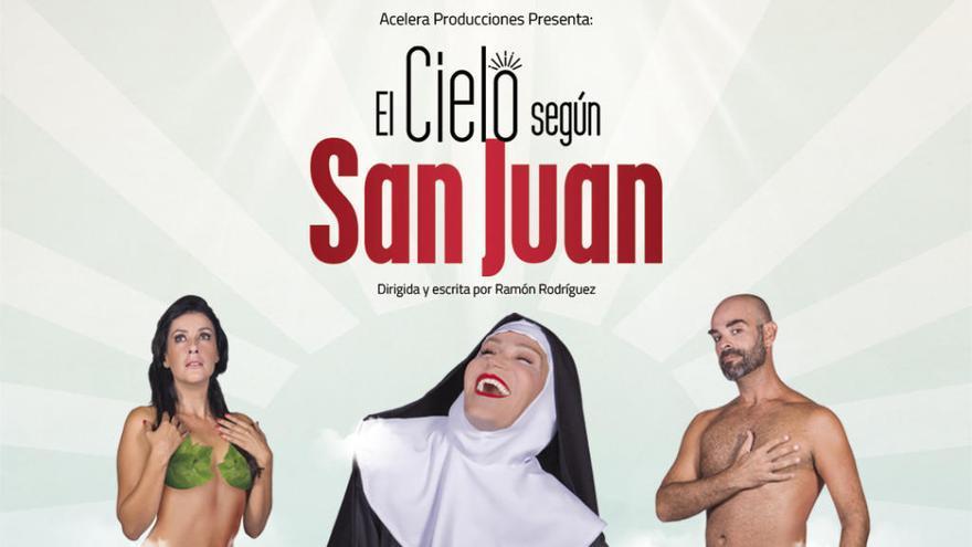 'El cielo según San Juan' agota las entradas en el teatro Juan Ramón Jiménez
