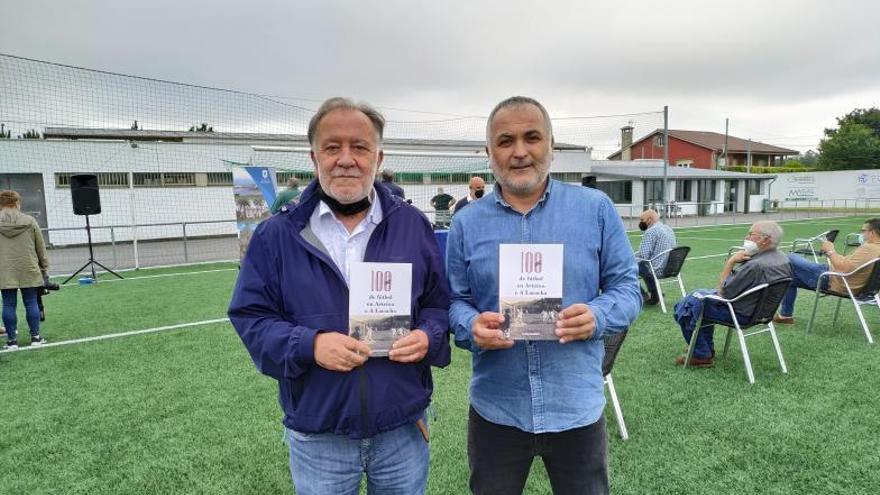 Presentado el libro sobre el fútbol de Arteixo y A Laracha