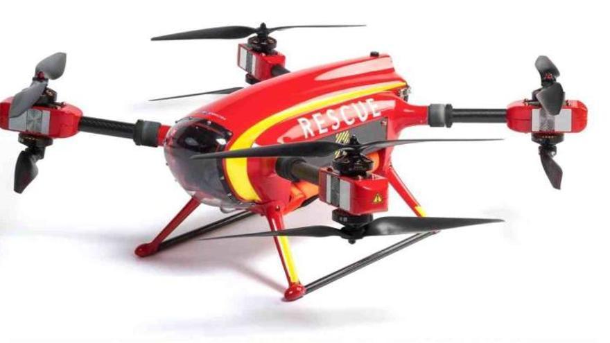 Ab sofort kommt Ertrinkenden an der Playa de Muro eine Drohne zu Hilfe
