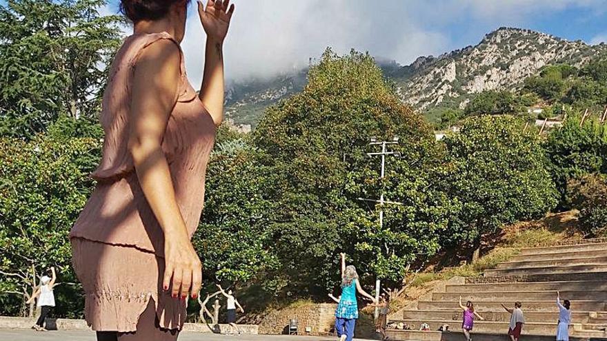 Berga acull una nova edició del curs intensiu de dansa lliure basada en el mètode Malkovsky
