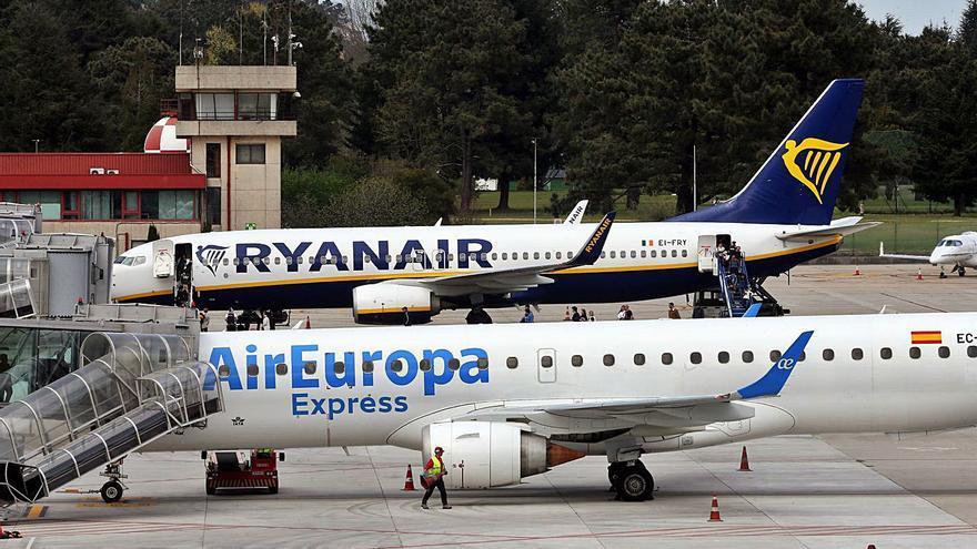 Ryanair eleva su apuesta: Vigo-Madrid