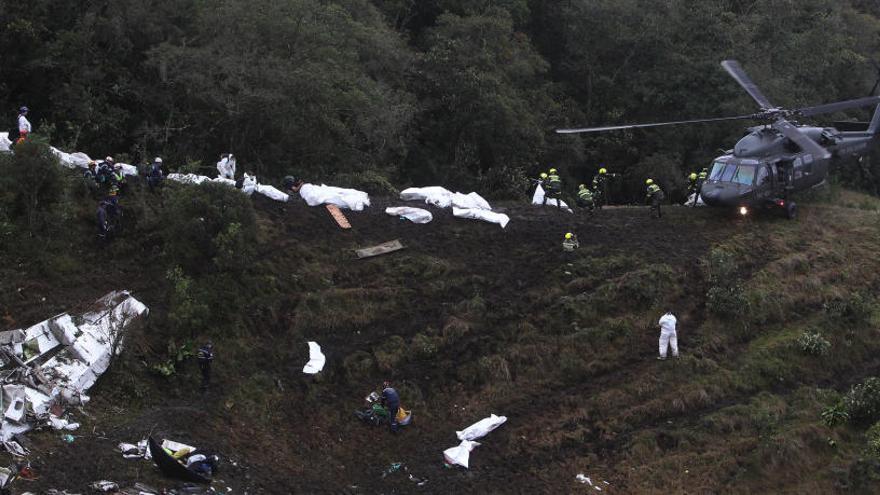 El avión en el que se estrelló el Chapecoense no tenía seguro