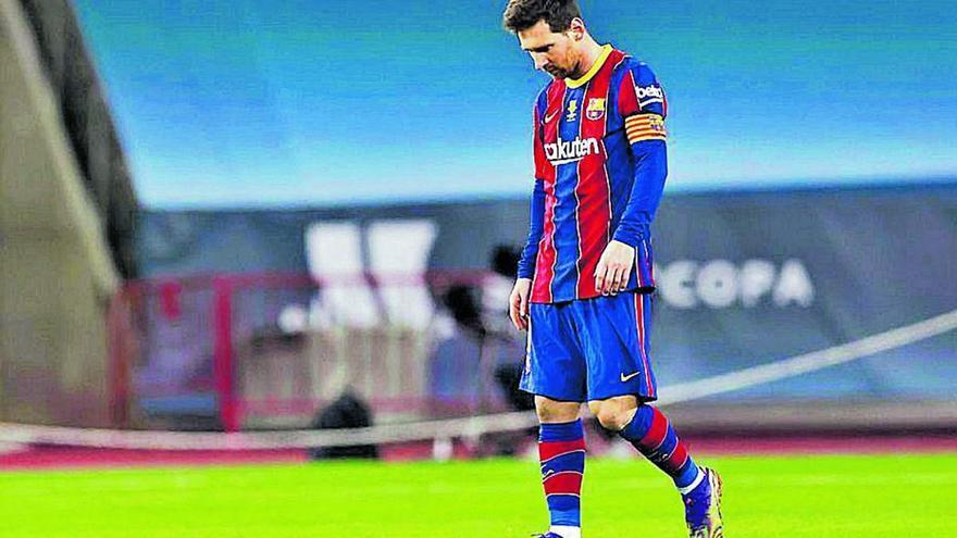 La filtració del contracte de Messi provoca un altre incendi a Can Barça