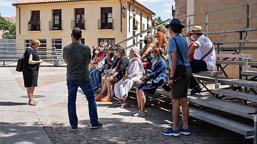 Los datos de julio apuntan a una recuperación del turismo en Zamora