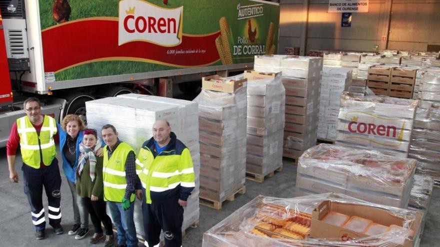 Coren donará el peso de cada Pularda del Convento vendida en alimentos a ONG