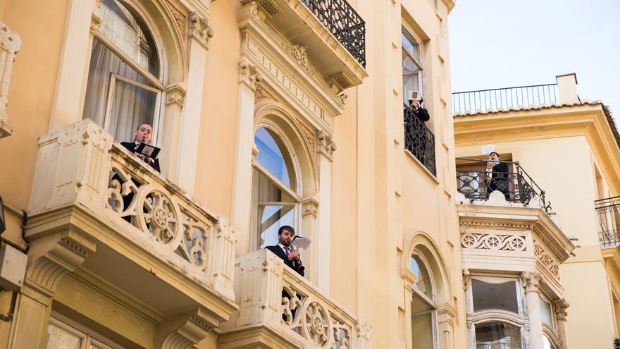 9 d'Octubre: La música regresa a los balcones para celebrar el Dia de la Comunitat Valenciana