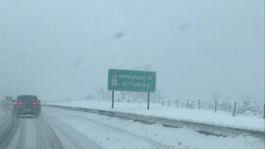 Problemas de circulación en la autopista del Huerna