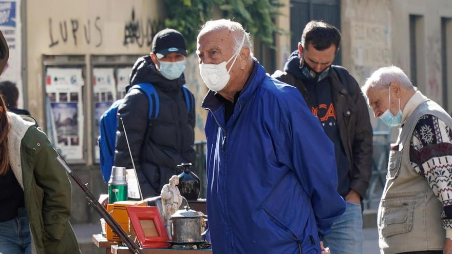 Récord de contagios en Francia e Italia