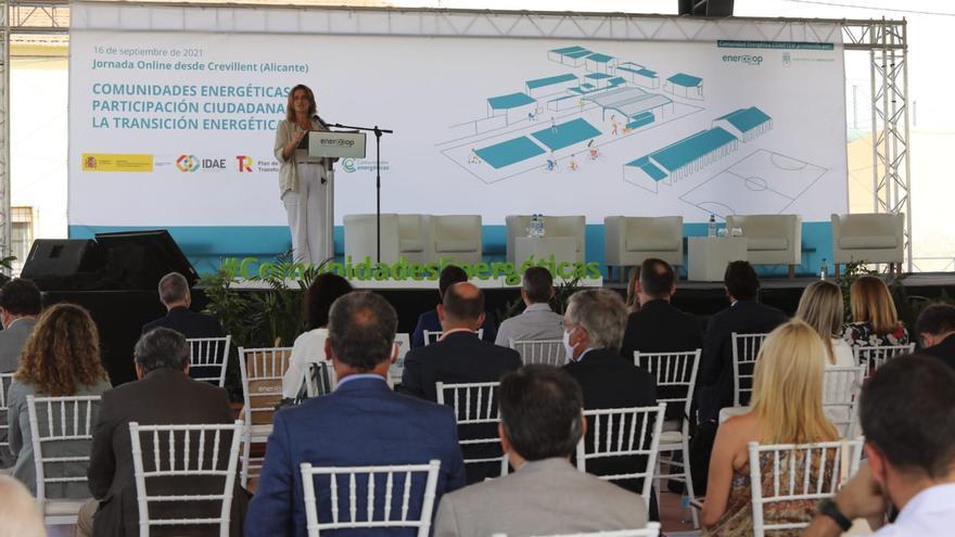 El Gobierno anuncia en Crevillent 100 millones para impulsar las comunidades energéticas
