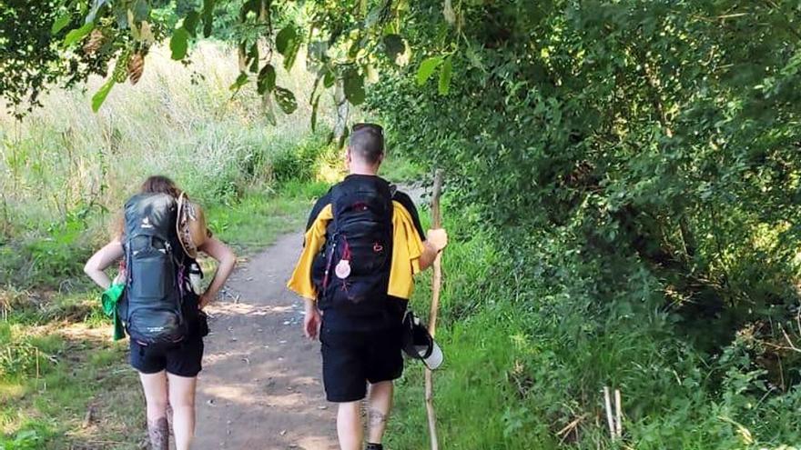 Detectado en O Pino un brote de 22 peregrinos valencianos