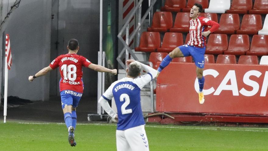 Gaspar Campos firma con el Sporting hasta 2025