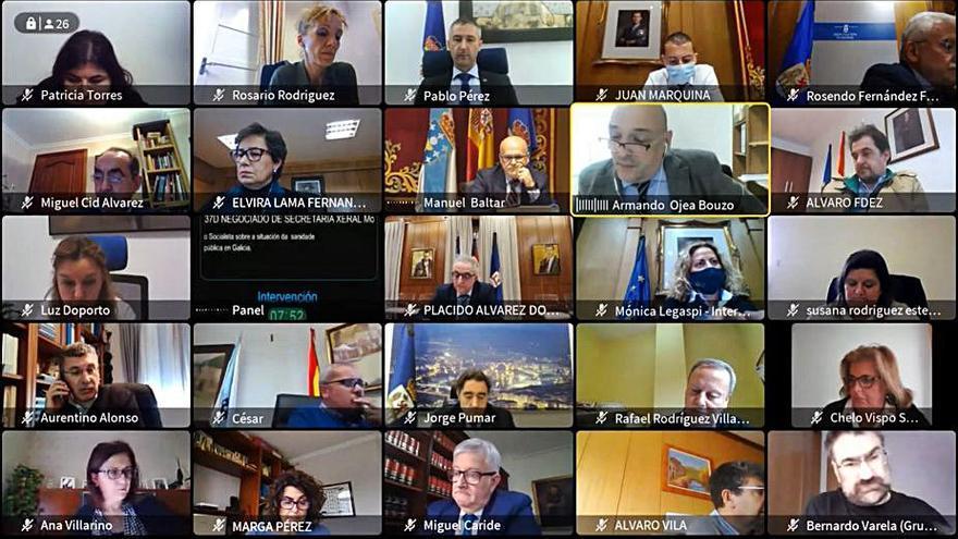 El secretario avala que las comisiones y plenos sean telemáticos en la Diputación