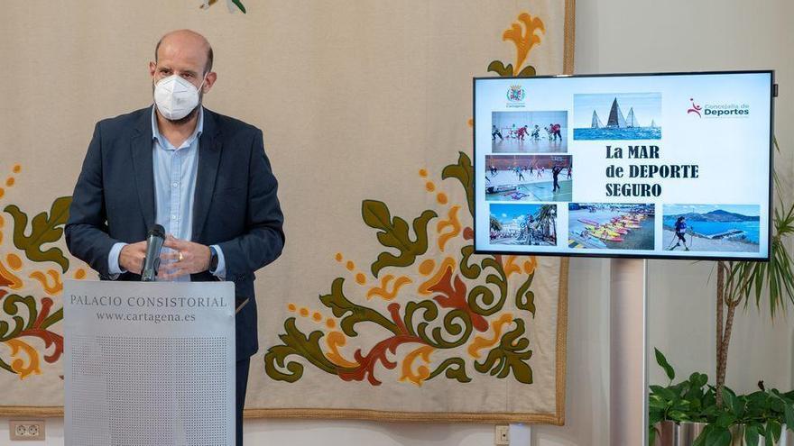 Cartagena crea la Comisión de Seguimiento Covid para el deporte