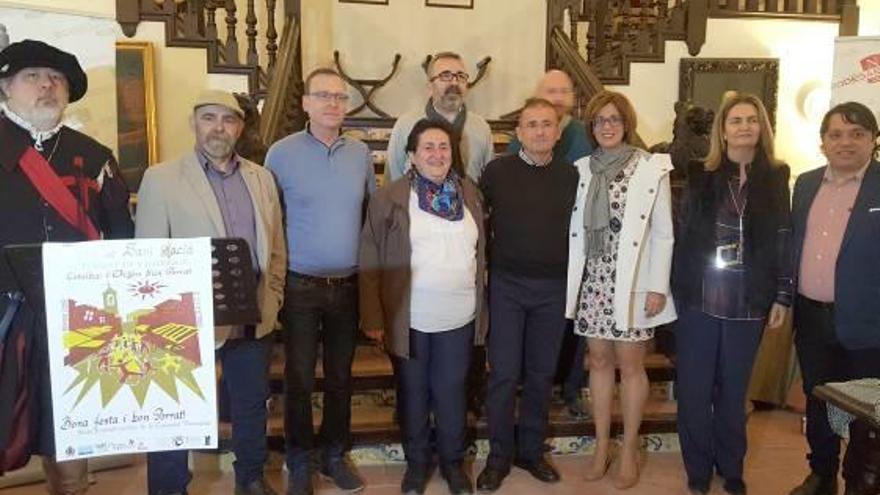 Pep Gimeno «Botifarra» y Lluís el Sifoner serán los platos fuertes del Porrat de Sant Macià 2019 de Ròtova