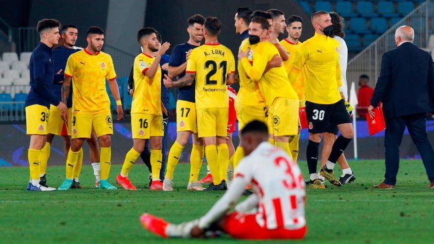El Girona, primer finalista para el ascenso a Primera