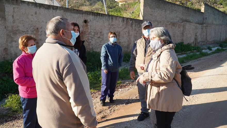 El PSOE reclama al Ayuntamiento el arreglo del camino Cortijo Vallejo en Puerto de la Torre