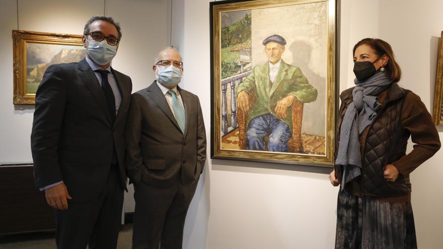 """Los hijos del abogado y pintor Arturo Martínez: """"La exposición de sus cuadros es como un Super 8 de nuestra vida"""""""