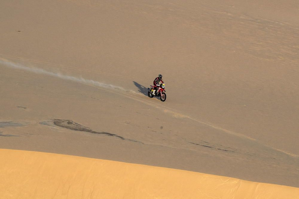 Décima etapa del rally Dakar.