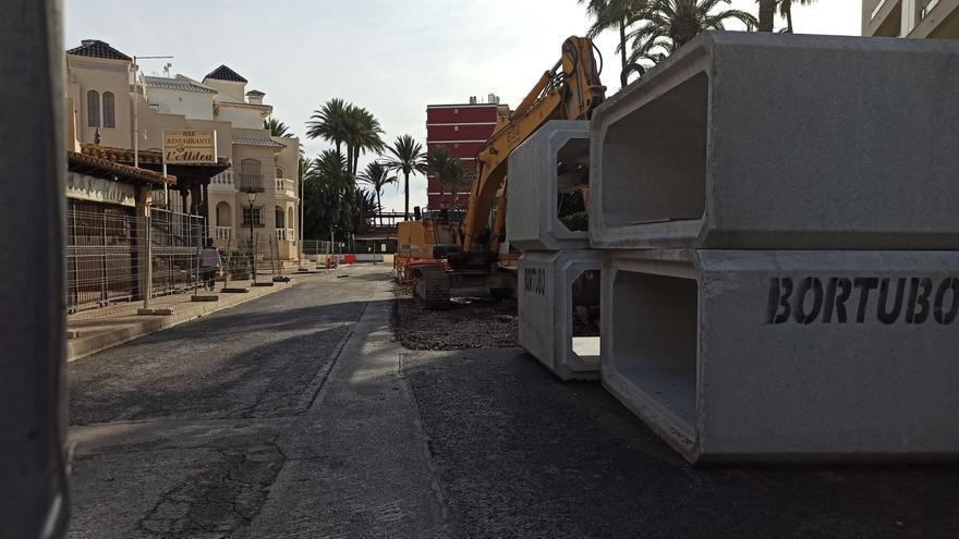 """Agamed construye un cajón de pluviales en Torrevieja para resolver el punto negro de inundaciones en el """"222"""""""