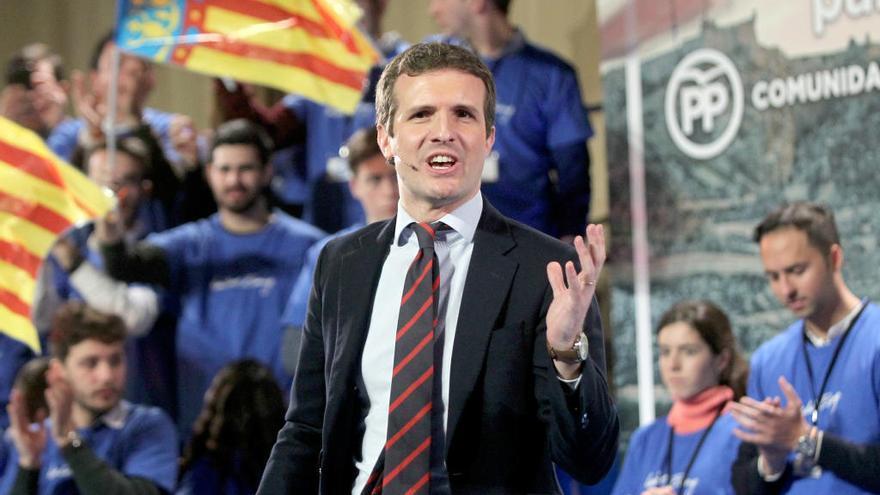 Casado presidirá en València el encuentro de jóvenes del Partido Popular europeo