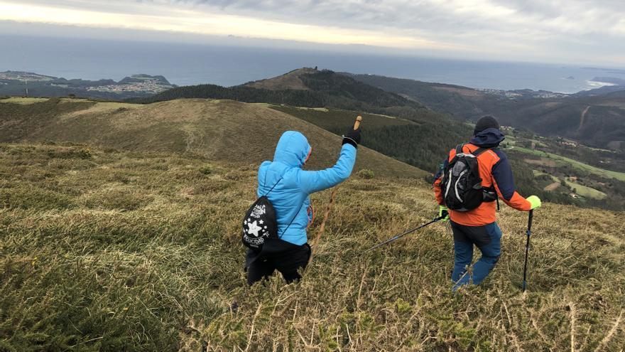 """""""Justine""""  barre Asturias con vientos de 100 kilómetros por hora"""
