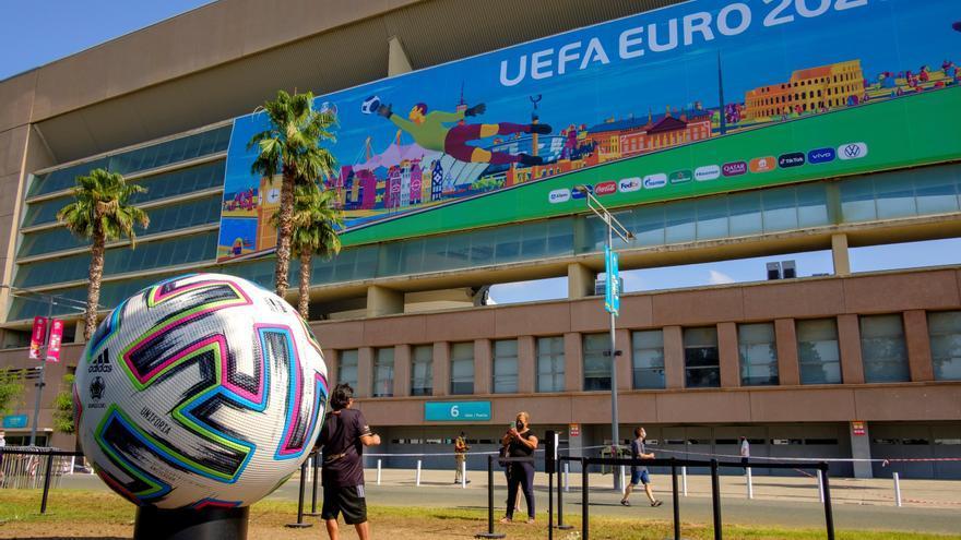 La final de la Eurocopa tendrá el doble de público en el estadio