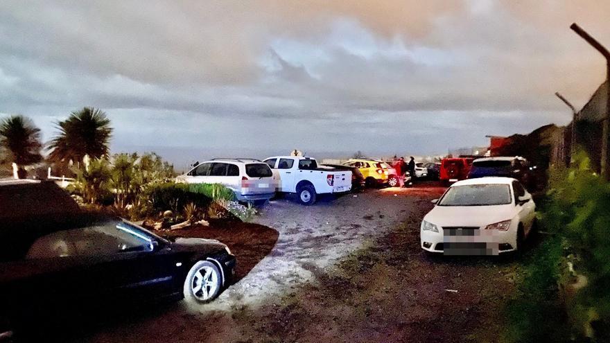 Desalojadas más 50 personas en una fiesta en La Laguna