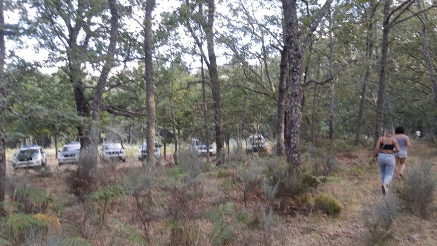 La Guardia Civil desaloja la acampada de Vime tras recibir la orden judicial