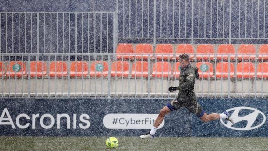 LaLiga aplaza el Atlético-Athletic por la nevada