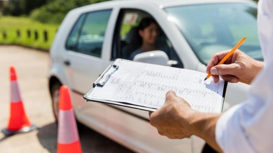 Así son los exámenes de conducir en tiempos de Covid