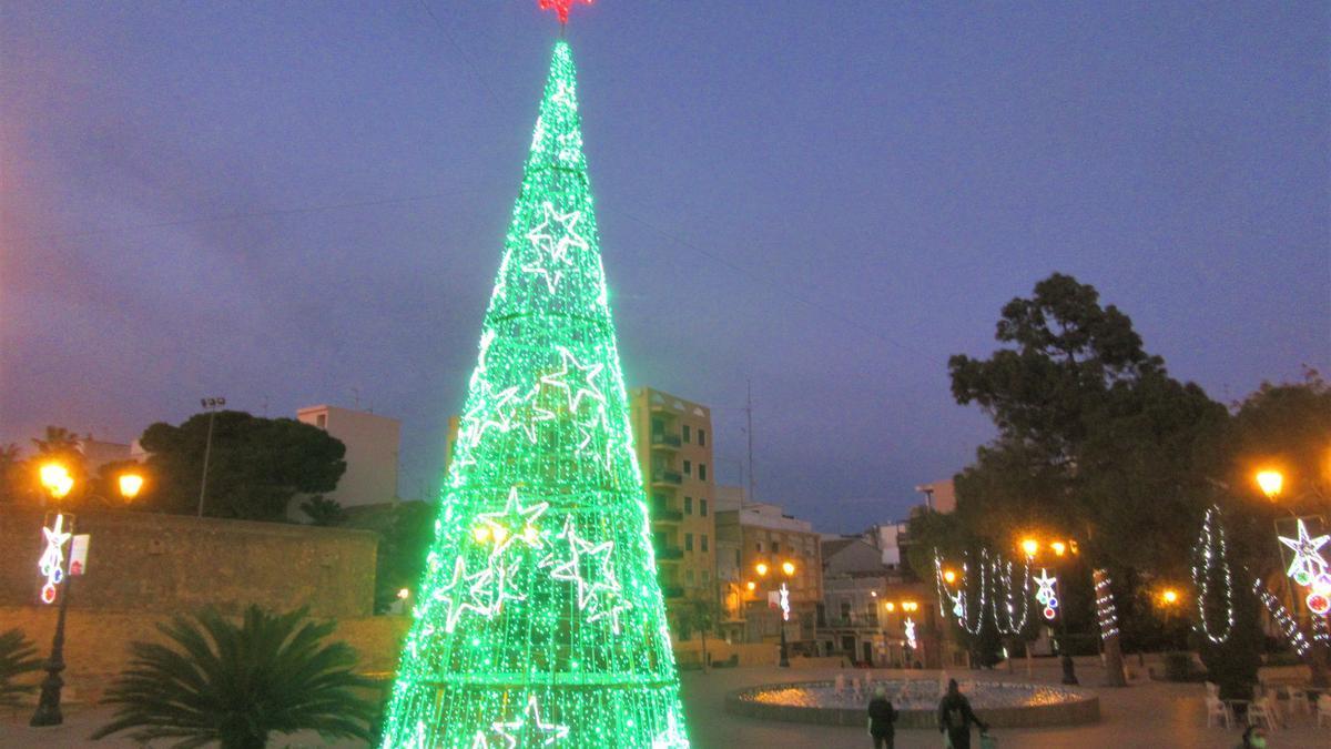Iluminación navideña en Burjassot