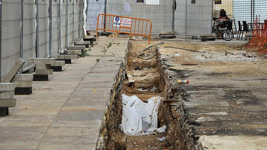 Movilidad descartó la cripta arqueológica prevista inicialmente en la plaza de la Reina