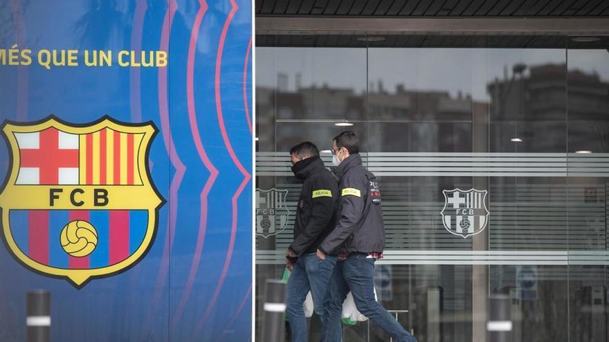 """Els Mossos troben una """"llista negra"""" de periodistes en els escorcolls del Barça Gate"""