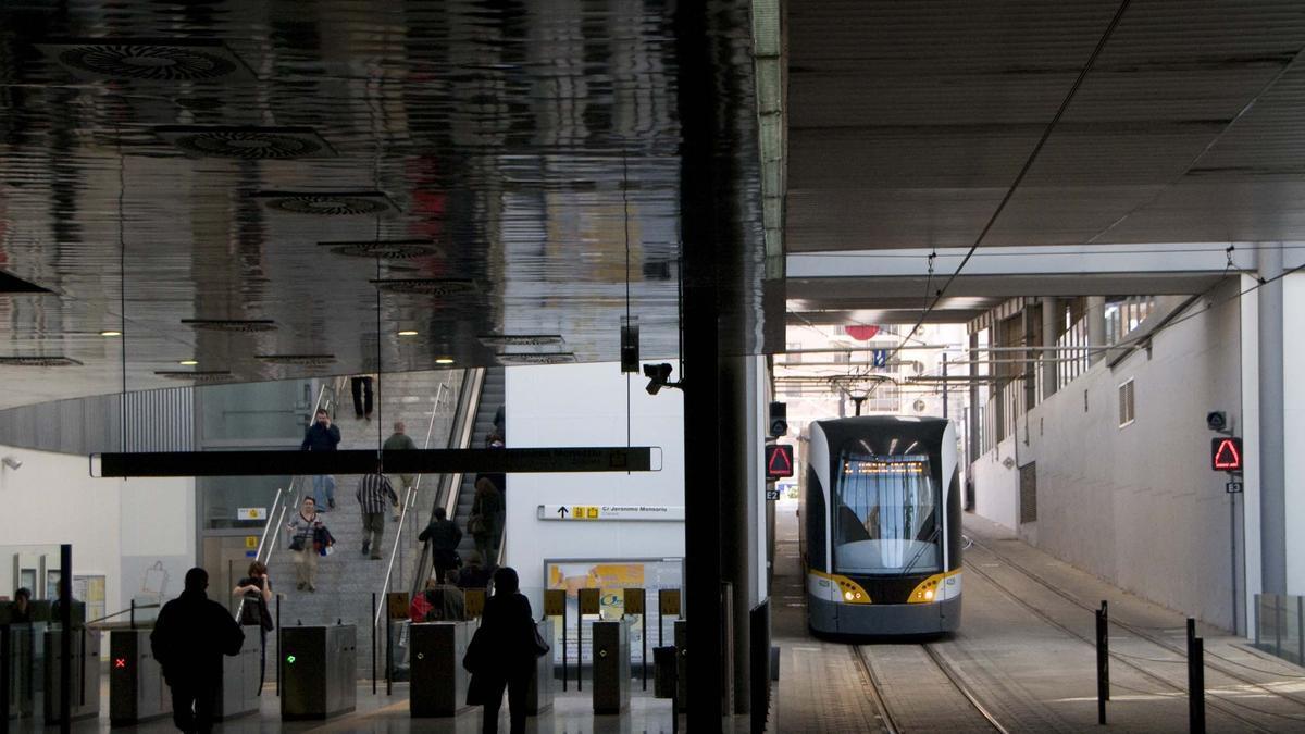 Metrovalencia modifica el servicio del tranvía el próximo domingo con motivo de la 40º Maratón