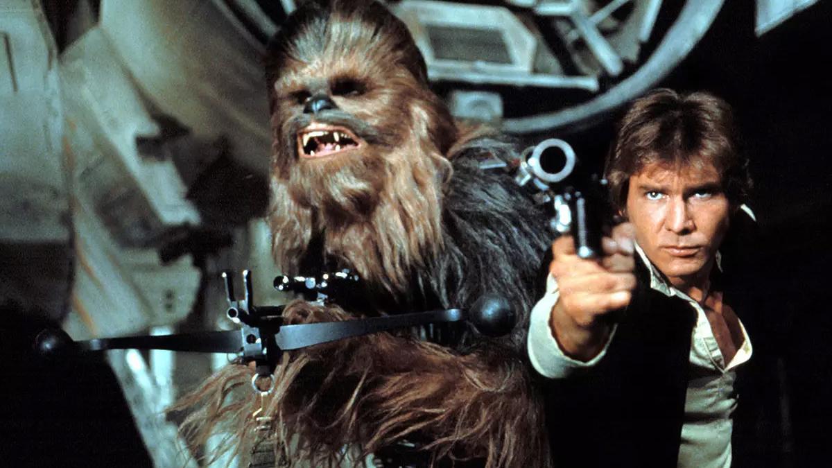 Una imagen de 'Star Wars'