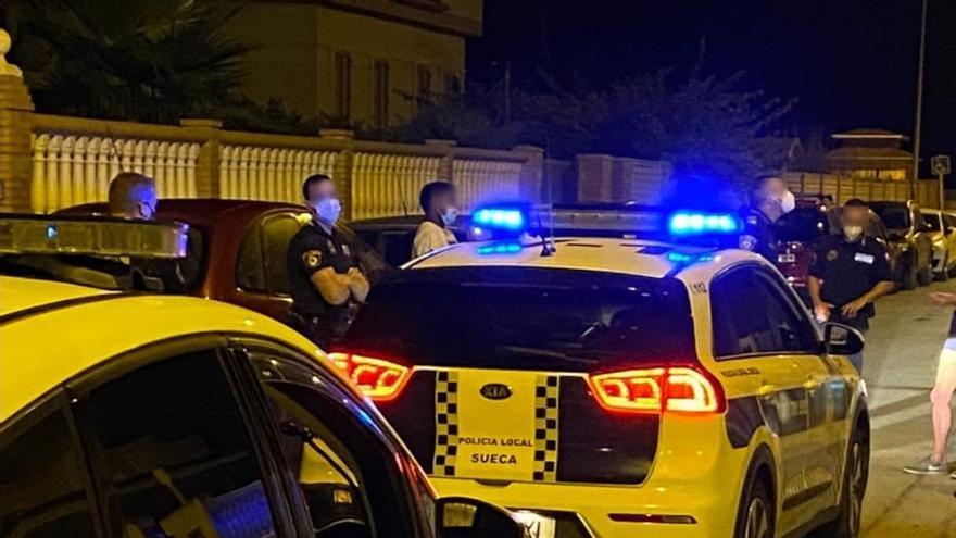 Detenido 'in fraganti' robando en una casa de Sueca