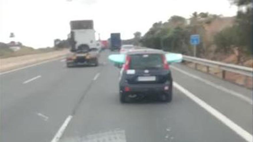 La Guardia Civil pilla al conductor 'surfero' de Gran Canaria