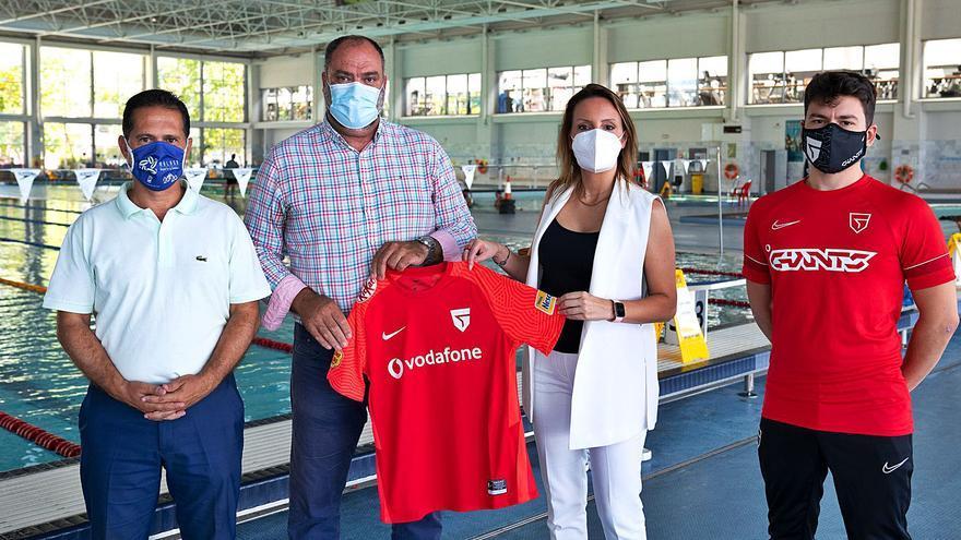 Los jugadores de Vodafone Giants entrenarán en el centro Inacua
